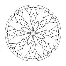 Coloriage Mandala Rosace L L L L