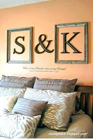 letter decor for wall letter decor for wall wall letters decorative initial home decor s s metal