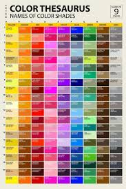Color Chart With Names Pin By Mouli Moni On Paramesh In 2019 Color Names Color