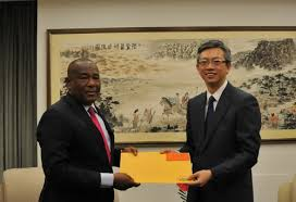 pictures of the office. Deputy Director-General Of The Protocol Department And Director Office Foreign Missions Ministry Wang Lutong Accepts Copy Pictures N