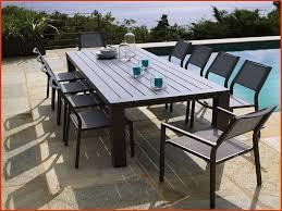 Ensemble table et chaise exterieur - Maison mobilier et design