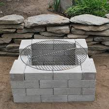 completed fire pit