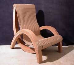 cardboard furniture design. laminated catenary cardboard chair mick michelin designed this for the aias affair 2005 competition furniture design
