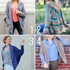 Free Crochet Sweater Patterns Delectable 48 Super Easy Free Crochet Sweater Patterns Make Do Crew