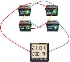 24 volt battery wiring diagram efcaviation com how to connect 8 12v batteries to make 48v at 24 Volt Battery Bank Wiring