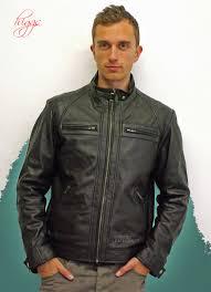 higgs leathers alonzo men s designer black leather biker jackets