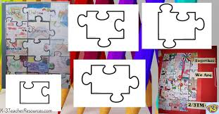 Puzzle Piece Template New Printable Blank Jigsaw Puzzle Template