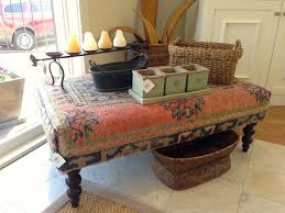 coffee table upholstered furniture frache on the avenues frache on upholstered coffee table ottoman