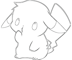 charming cute pikachu coloring pages sheet photo pokemon printable benneedham info