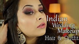get ready with me indian wedding makeup hair and indian outfit for curvy women you