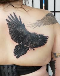 The Ravens Are Back Raventattoo Blackandgreytattoo