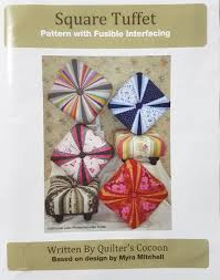 Tuffet Pattern Extraordinary Square Tuffet PatternTuffetSew Patch N Quilt