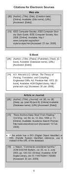 Ieee Citation Style Guide Panduan Pengutipan Ieee