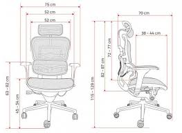 ergohuman chair specifications