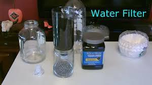 diy water filter homemade high volume water filter easy diy makes tap water taste great you