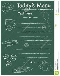 breakfast menu template menu breakfast template stock vector image of white 41009991