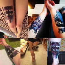 временная водонепроницаемая татуировка 21x148cm