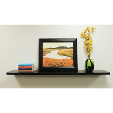 60 Inch Floating Shelves Stunning Shop Lewis Hyman Wall Mounted 32inch Black Floating Shelf Free