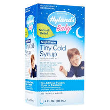 HYLAND'S, <b>Baby Tiny Cold</b> Syrup Nighttime (Ages 6+ months ...