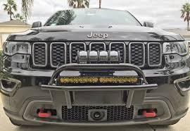 Wk2 Hidden Light Bar Jeep Grand Cherokee Bumper Kits Wk2