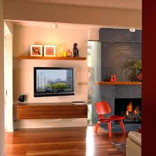 smlf flat screen tv mounting above fireplace over safe decorating ideas mount