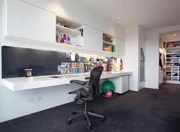 large wall mounted desks with file