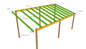 Lean To Carport Roof Plans Rv Pinterest Roof Plan Pallet Wood Lean To Carport Plans