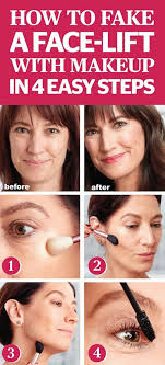 makeup tips to make you look younger fake a face lift with makeup in 4 easy steps look 10 years younger with these anti aging skin care ideas simple