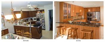 Kitchen Renovation Before And After Captivating Interior Design - Kitchen renovation before and after
