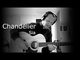chandelier sia instrumental piano guitar cover