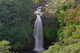 Kamae'e Falls Photograph by Ivan Franklin