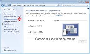change text size fonts change windows 7 help forums