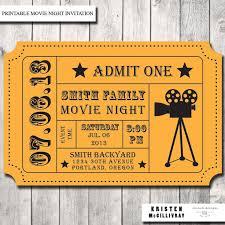 Invitation Ticket Template Movie Ticket Template Free Editable Raffle Movie Ticket Templates 46