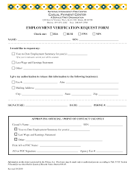 Prior Employment Verification Form Committee Sign Up Sheet Template