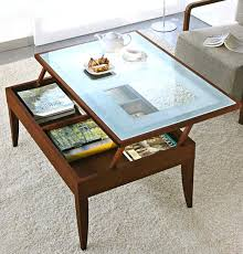 coffee table lift top brown rectangle lacquered wood modern lift top coffee table with intended for coffee table lift top