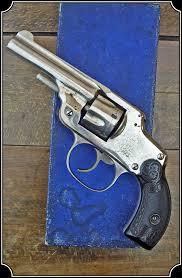 antique spencer safety hammerless revolver to enlarge