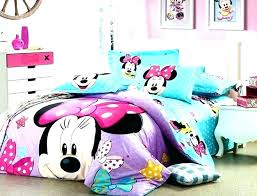 Minnie Mouse Twin Bedroom Set Fashionable Mouse Comforter Mouse ...