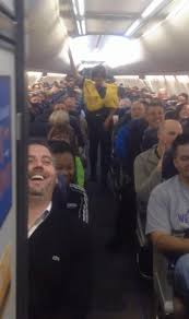 watch southwest airlines flight attendant gives hilarious safety flight passengers known generally to ignore the safety spiel given by flight attendants are