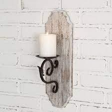 farmhouse candle sconce