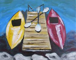 kickin kayaks painting party