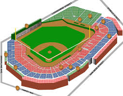 24 Prototypical Fenway Park Seating Plan