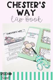 Chester S Way Literature Lap Book
