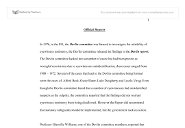 testimony essay eyewitness testimony essay