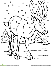 Small Picture Winter Animal Coloring Pages GetColoringPagescom