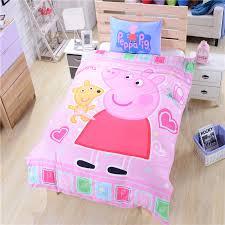 Pink Peppa Pig Bedding for Girls Duvet Cover Single Double Queen ... & Pink Peppa Pig Bedding for Girls Duvet Cover Single Double Queen CA UK US  AU Size Adamdwight.com