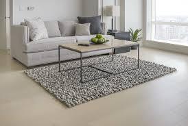 Mats Inc Wool Felt Hand Tufted GrayWhite Area Rug Reviews Wayfair