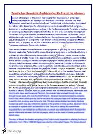judaism essay a high mark essay year hsc studies of judaism essay a high mark essay