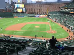 seat view for oriole park section 244
