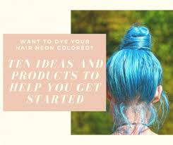 Manic Panic Blue Color Chart 10 Neon Hair Color Ideas And What Products To Use Bellatory