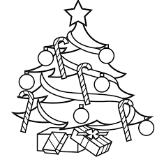 Coloring Book Pages Christmas Tree Free Printable Coloring Pages